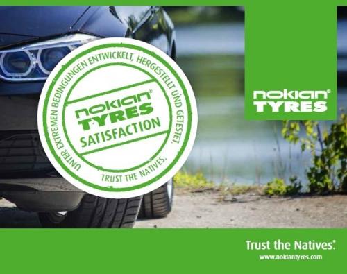 PKW Nokian Zufriedenheitsgarantie