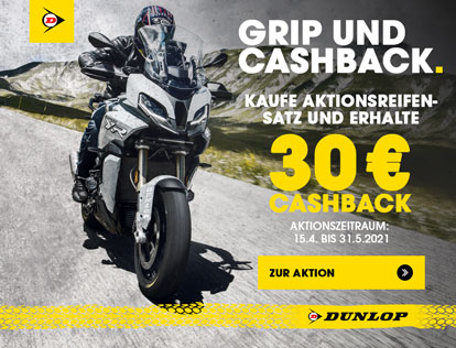 Dunlop 30 € Cashback Aktion