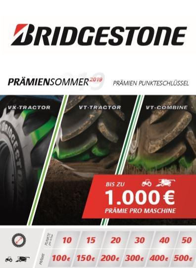 Bridgestone Prämiensommer