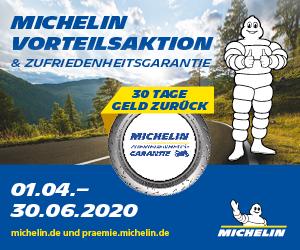 Michelin Motorrad Aktion