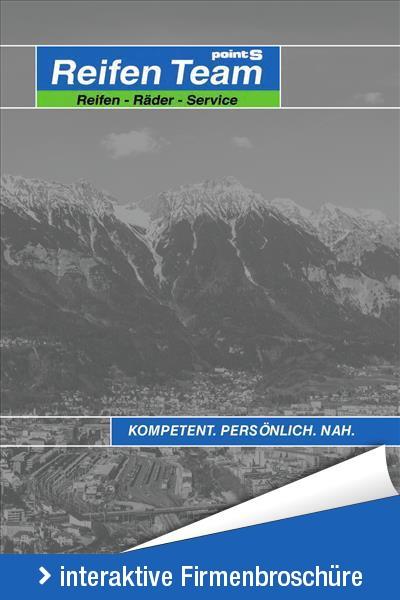 Interaktive Firmenbroschüre der Reifen Team West GmbH